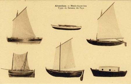 Type de bateaux du pays