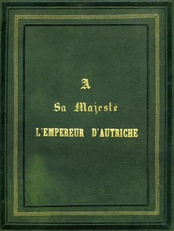Rapport de Paul Lacoin destiné à l'Empereur François-Joseph. (Recto) (Collection particulière)