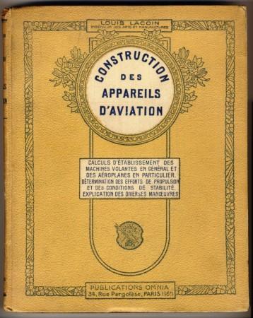 Ouvrage de Louis Lacoin publié en 1911