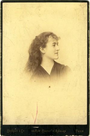Josephina Clayton à l'époque de son mariage.