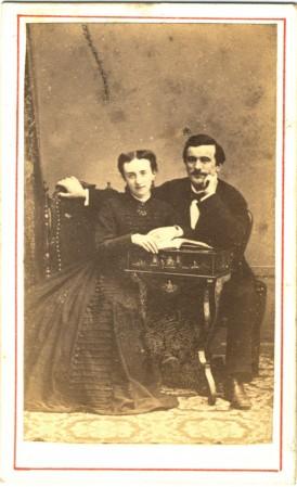 Paul Bert et sa femme
