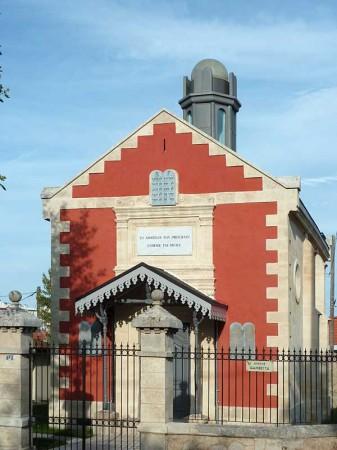 La Synagogue rénovée (Cliquez sur la photo pou l'agrandir)