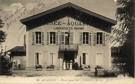 Musée-Aquarium, Laboratoires marins