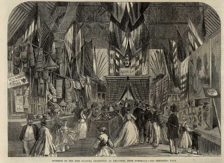 L'exposition de 1866 vue par la revue britannique The illustrated London news