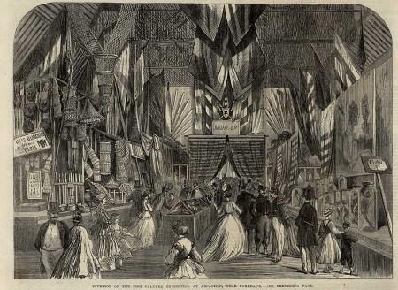 L'exposition de 1866 vue par la revue britannique The illustrated London news