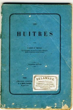 La couverture de l'étude de l'abbé Mouls