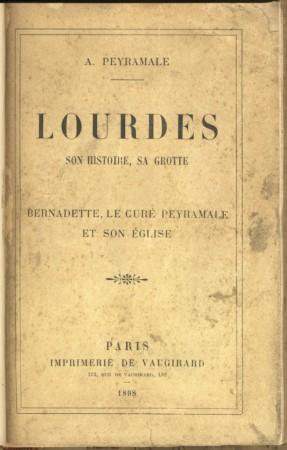 Couverture du livre d'Alexandre Peyramale.