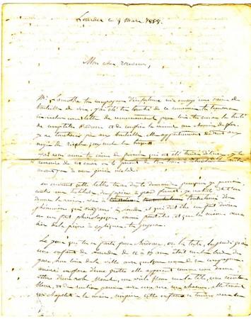 Lettre du curé