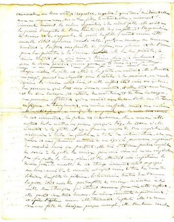 Lettre du curé (2e feuillet)
